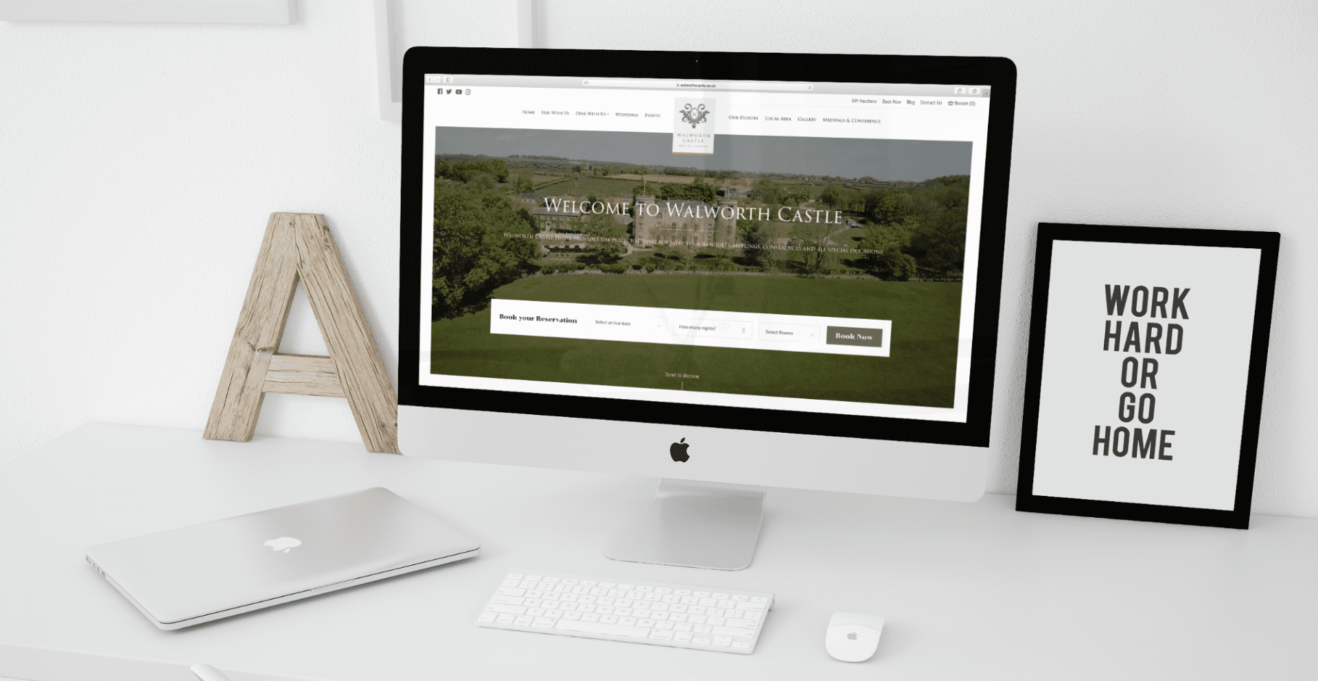 Walworth Castle | Booking System Software Development