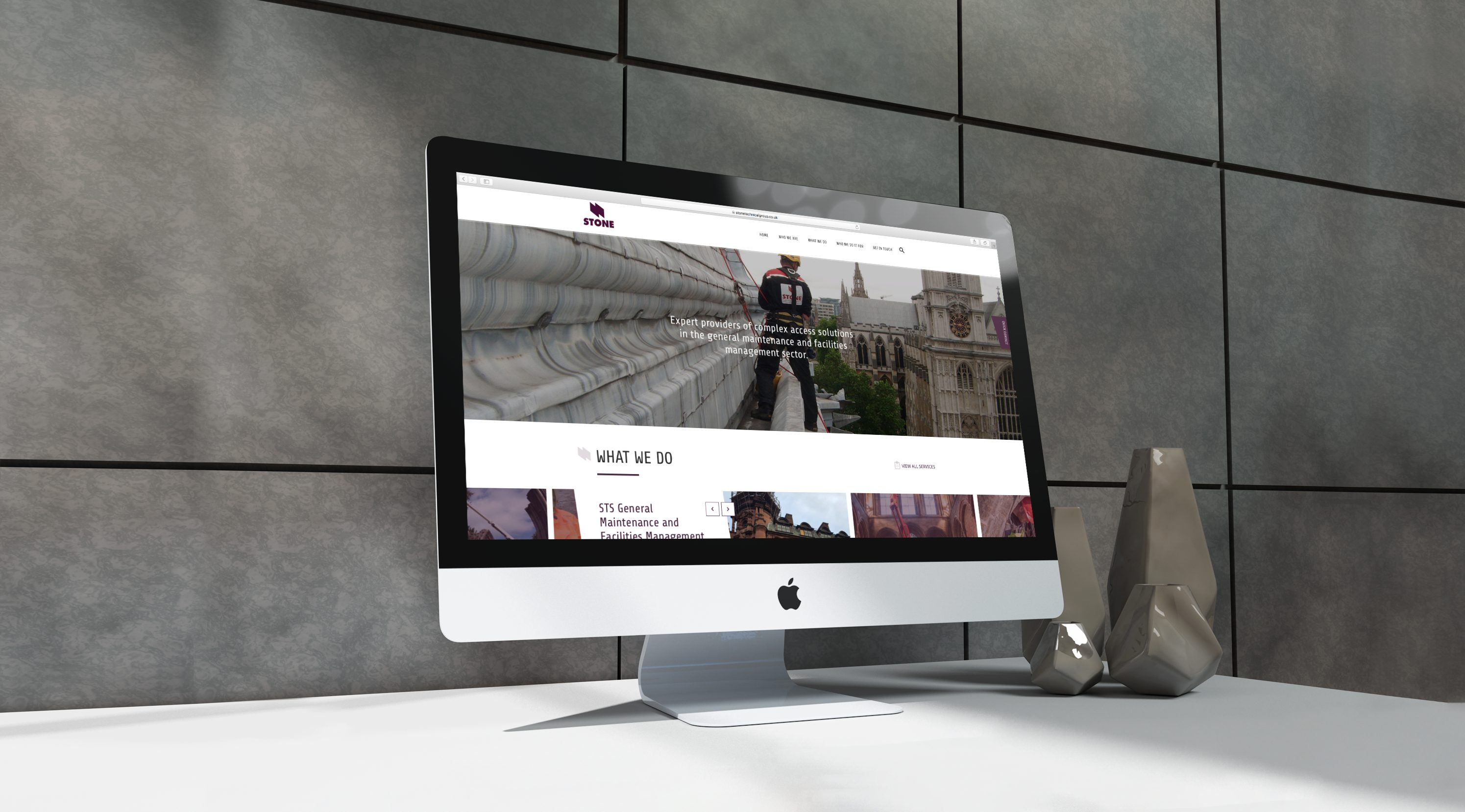 Stone Technical Services | Website Mock