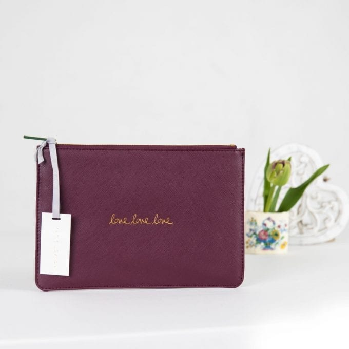 Katie Loxton Love Love Love Perfect Pouch