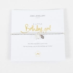 Joma Jewellery Birthday Girl Bracelet